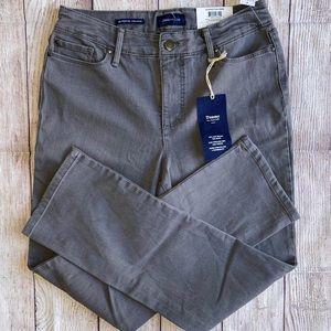 Charter Club Lexington Straight Pants Gray 6 P